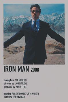 Marvel Movie Posters, Avengers Poster, Avengers Movies, Superhero Movies, Marvel Movies, Marvel Avengers, Film Posters, Iron Men 1, Marvel Cards
