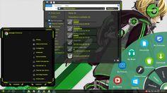 Personalização Completa Windows 10 (Green) Solar Explorer