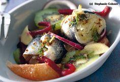 Fruchtiger Rollmops-Salat