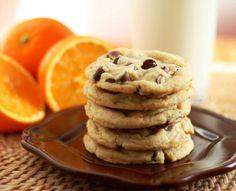 Orange+Chocolate+Chip+Cookies+(tastes+just+like+an+Orange+Milano,+but+better!)