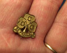 Vintage Girl Guides Badge by Merrimans on Etsy