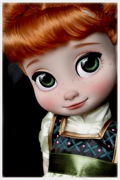 "Repaint ""Anna"" Toddler Doll, Animator's Collection from Disney Frozen 