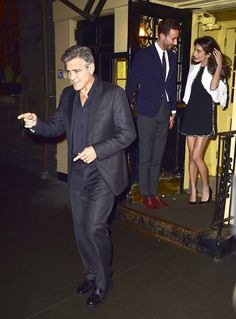 Pin for Later: Who Needs to Accessorize When You've Got Legs Like Amal Clooney?