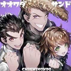 幽 (@u_u_ki_u_u) / Twitter Danganronpa Chihiro, Monokuma Danganronpa, Danganronpa Memes, Danganronpa Characters, Anime Characters, Ishimaru Kiyotaka, Gundham Tanaka, Danganronpa Trigger Happy Havoc, All Anime