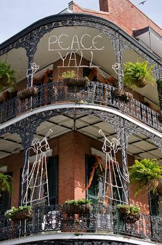 NOLA Southern Christmas decorations by behrensp, via Flickr