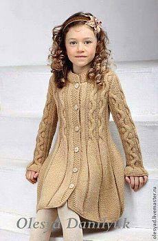 """Vestido menina tricot [ """"Little girls Knitting For Kids, Baby Knitting Patterns, Crochet For Kids, Knitting Designs, Free Knitting, Crochet Baby, Knitting Bags, Crochet Patterns, Knitting Ideas"""