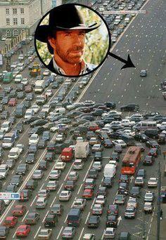 Chuck Norris in Traffic