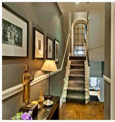 Hallway wall colour