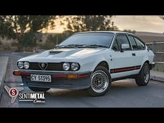 """The locally developed is undoubtedly the most revered Alfa Romeo model ever sold in South Africa. Bred for the track, the """"Alfetta"""" GTV was, i. Alfa Romeo Gtv6, Alfa Gtv, Mercedes Benz 190, Nissan Skyline Gt, Car Magazine, Jaguar E Type, Car Makes, Fuel Injection, Alloy Wheel"""