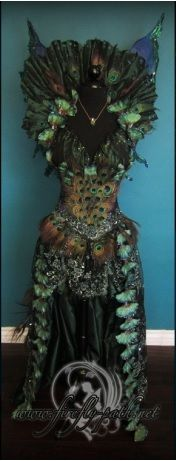 Dark Star Peacock Fairy Dress from Firefly Path