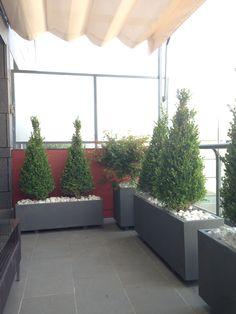 jardineras para terrazas maceteros pots