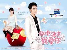 Fated to Love you (Taiwanese Drama, 2008).  Chen Qiao En and Ethan Ruan.