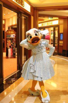Miss Daisy Duck on Disney's Fantasy