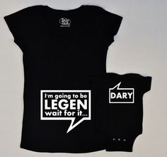 Legendary Baby Onesie. I am gonna have to get this for you, @Crystal Chou Stewart and Aaron ;)