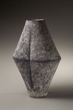 Mihara Ken, 1958 - Stoneware, 18 3/4 x 12 5/8 x 7 3/4 in.