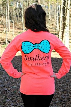 It's A Lifestyle Long Sleeve Tee $34.99 #SouthernFriedChics
