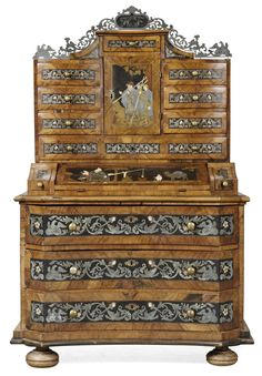 An 18th century German cupboard.
