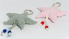 CuteDutch, #haken, gratis patroon, Nederlands, amigurumi, sleutelhanger, tashanger, ster, Kerstmis, #haakpatroon