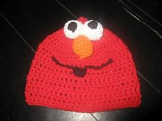"As Tanner would say ""Melmo!!!!""  Would love to make him an Elmo hat!!!"