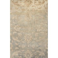 Heritage Collection Doily Rug in Frosted Almond & Cement by Jaipur