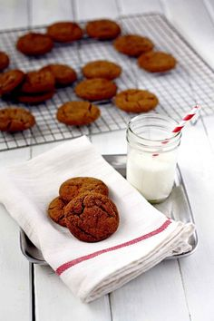 Our friend @InSockMonkeySlippers baked up a batch of our Molasses Cookies this holiday season, and is hosting a giveaway of our latest cookbook