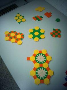 pattern block tiling