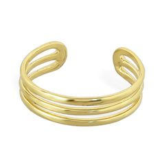 10K solid gold toe ring