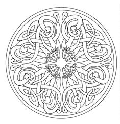 mandala adult 7 coloring pages printable and coloring book to print for free. Find more coloring pages online for kids and adults of mandala adult 7 coloring pages to print. Mandalas Painting, Mandalas Drawing, Mandala Coloring Pages, Coloring Pages To Print, Printable Coloring Pages, Coloring Sheets, Coloring Pages For Kids, Coloring Books, Coloring Worksheets