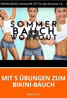 Mit 5 Übungen zum Bikini-Bauch mit Sophia Thiel