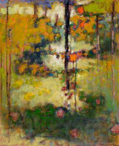 Rick Stevens, Shaping the Unknown, oil on canvas