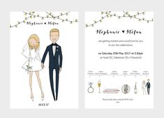 50 Funny Wedding Invitations That Will Make You Happy |  #alternative #casual #funny #funnyweddinginvitations #invitations #invite #invites #offbeat #quirky #whimsical | funny wedding invitations