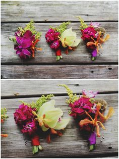 Tropical wedding flowers - orchids