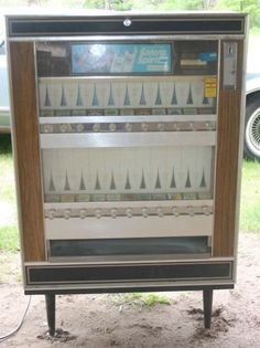 cigarette machine! They had one at Americana amusement park in OH for yrs. We went there when we were to poor to go to King's Island..lol