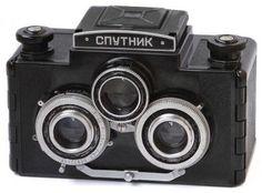 Russian sputnik camera.  Vintage Lomography  - Lomo ready cameras   - Vintage collectible cameras    www. Etsy.com/VintageLomography