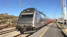 Locomotive, Railroad Tracks, Yards, Norway, Electric, Vehicles, Trains, Europe, Levitate