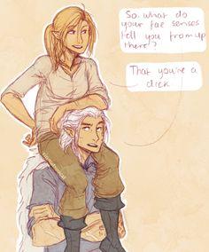 Aelin&Rowan :D I love them together!