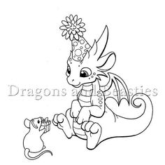 Inktober: Party by DragonsAndBeasties on DeviantArt Fantasy Dragon, Dragon Art, Drawing Programs, Dragon Coloring Page, Dragon Sketch, Dragon Pictures, Cute Dragons, Baby Fairy, Baby Dragon