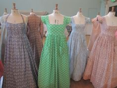 Laura Ashley dresses - used to sew these back in the day
