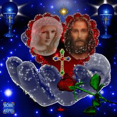 Mary Jesus Mother, Blessed Mother Mary, Mary And Jesus, Blessed Virgin Mary, Jesus Is Lord, Image Jesus, Jesus Christ Images, Jesus Art, Beautiful Love Images