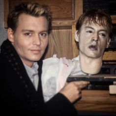 Johnny Depp replica dead head from 1999's The Astronaut's Wife