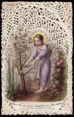Jesus is the Divine Gardener of Our Hearts Bouasse Lebel 1254