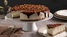 sernik wegański Vegan Cheesecake, Vegan Sweets, Vanilla Cake, Baked Goods, Tiramisu, Food Porn, Cooking Recipes, Xmas, Baking