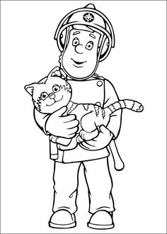 fireman sam coloring pages 47 coloring pages for kids