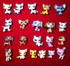 Littlest pet shop Dachshund Great Dane Cocker Spaniel Husky Horse Cat Dog Lot 21
