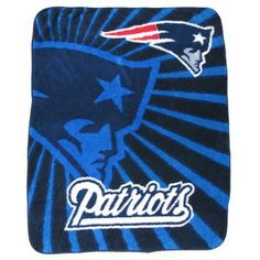 Official New England Patriots ProShop - Super Soft Sherpa Throw
