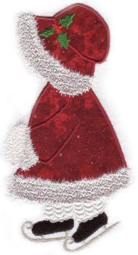 Winter Sunbonnet Sue