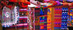 Markets in Guatemala Guatemalan Textiles, South American Countries, Idee Diy, World Of Color, Central America, Belize, Luxury Travel, Maya, Mexico