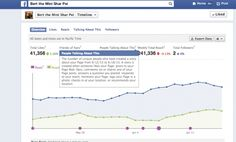 Facebook page insights old version (overview)
