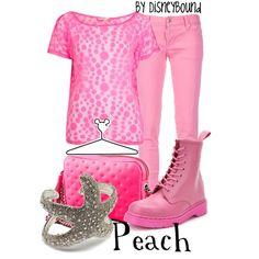 Peach, created by lalakay #disney