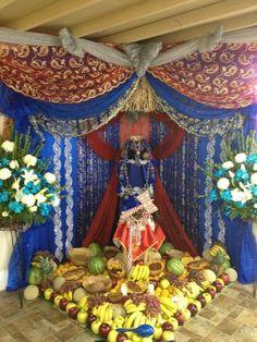 Amazing throne for Yemonja/Yemaya